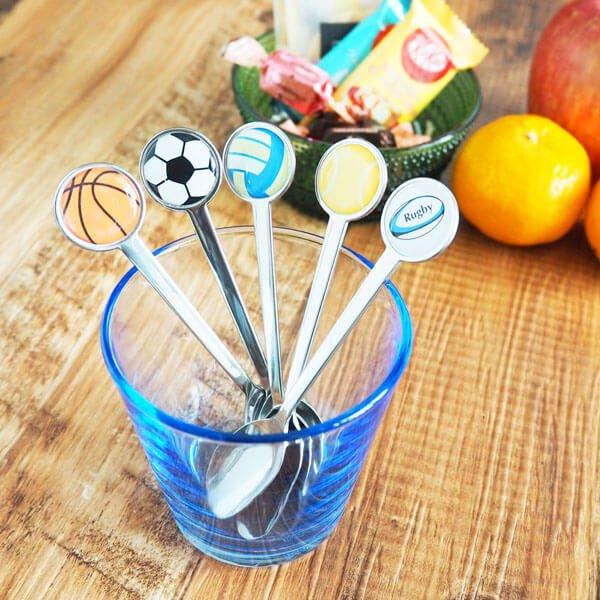 スポーツボールスプーンバスケットボール型【画像4】