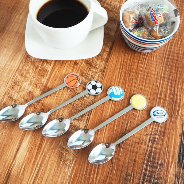 スポーツボールスプーン バスケットボール型【画像4】