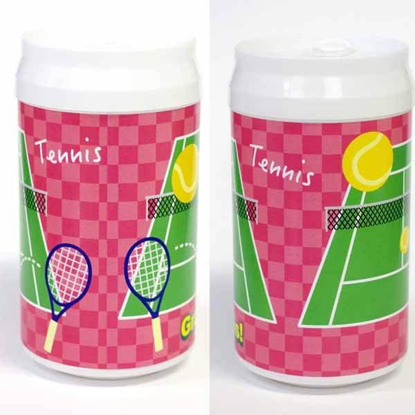 わくわくスポーツウェットティッシュ テニス柄 【画像2】