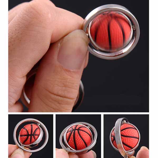 くるくるサッカーボールのキーホルダー【画像6】