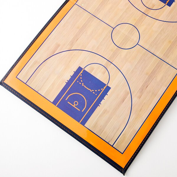 バスケットボールコート 折りたたみ式戦術ボード(イレーザー付き)【画像3】