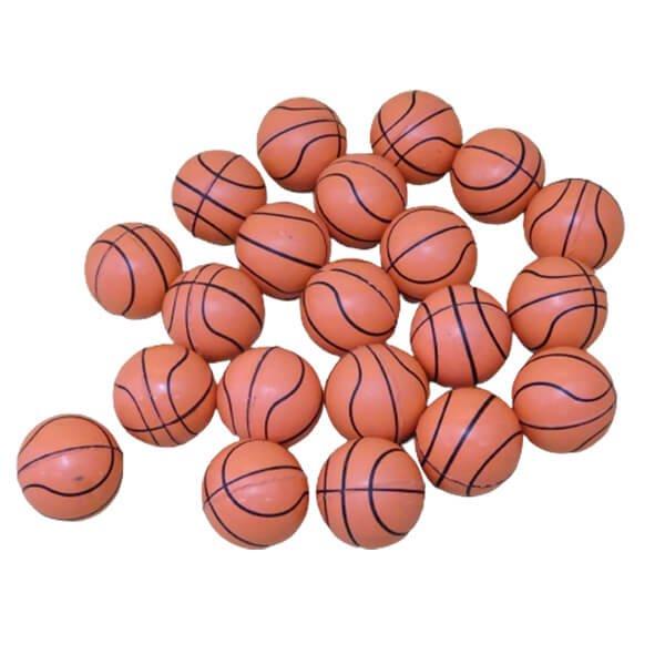バスケットボール型(薄いオレンジ) スーパーボール 1個【画像2】