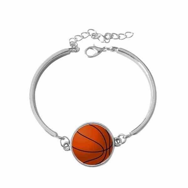 お洒落なバスケットボールのブレスレット
