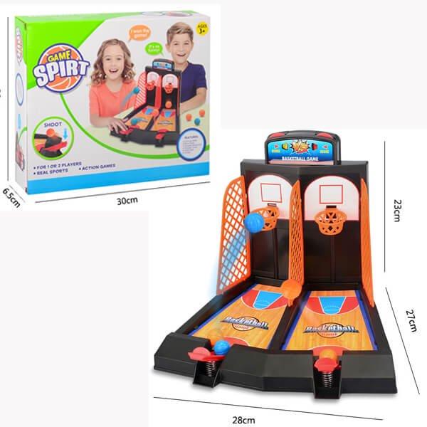 親子で遊べる ダブルバスケットボールゲーム