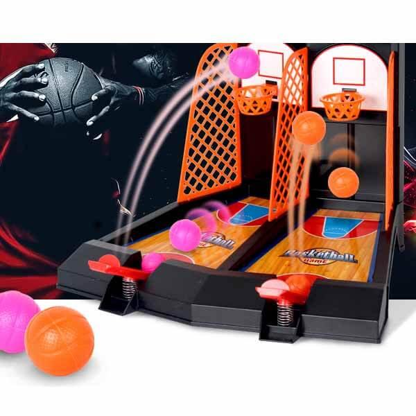 親子で遊べる ダブルバスケットボールゲーム【画像3】