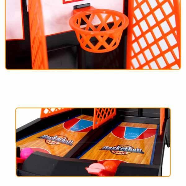 親子で遊べる ダブルバスケットボールゲーム【画像4】