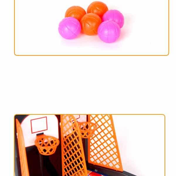親子で遊べる ダブルバスケットボールゲーム【画像5】