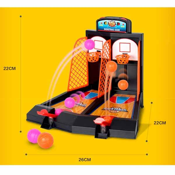 親子で遊べる ダブルバスケットボールゲーム【画像10】