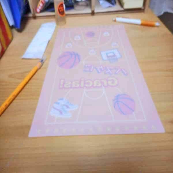 セットでお得 バスケットボール柄のオリジナル下敷き 単価94円〜【画像8】