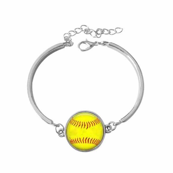 野球ボールグッズ・アクセサリー お洒落な野球ボールのブレスレット