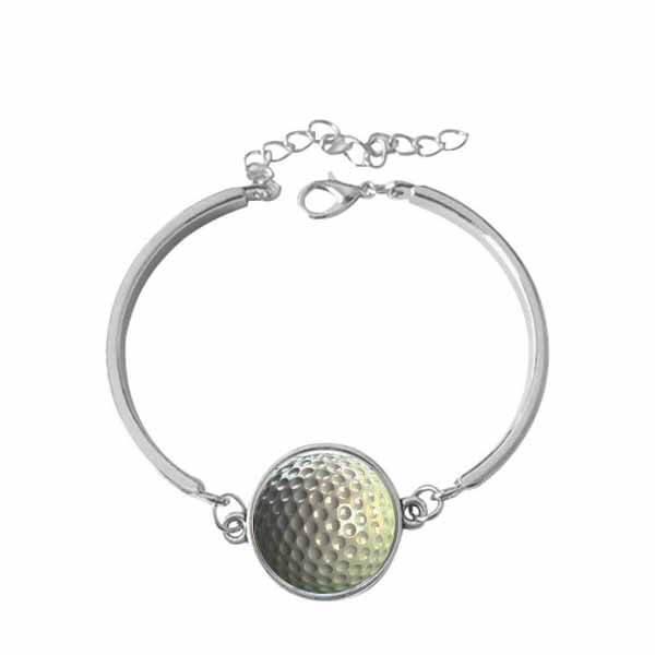 ゴルフボールグッズ・アクセサリー お洒落なゴルフボールのブレスレット