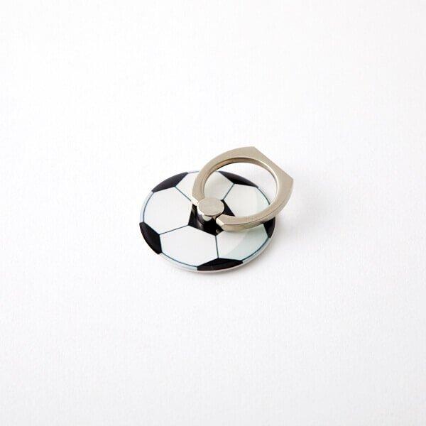スマホで便利サッカーボールのミニスタンドリング【画像4】
