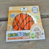 バスケットボール型のおにぎりデコパック