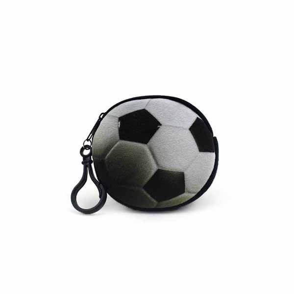 フック付きのリアルコインケース サッカーボール型 1個【画像3】