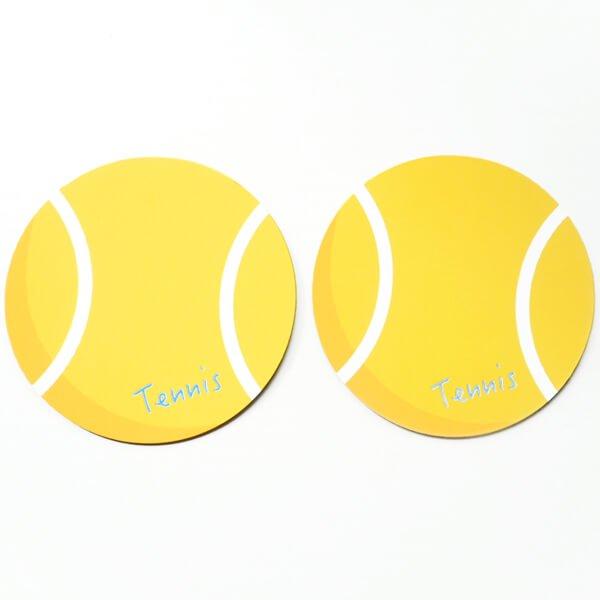 サークルマグネット オリジナルテニスボール1個【画像5】