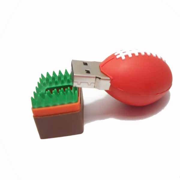 USBメモリ  ラグビーボールタイプ【画像2】