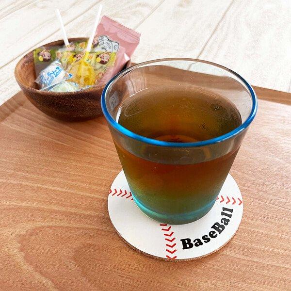 セットがお得! オリジナルコルクコースター 野球ボール型 単価115円〜【画像6】