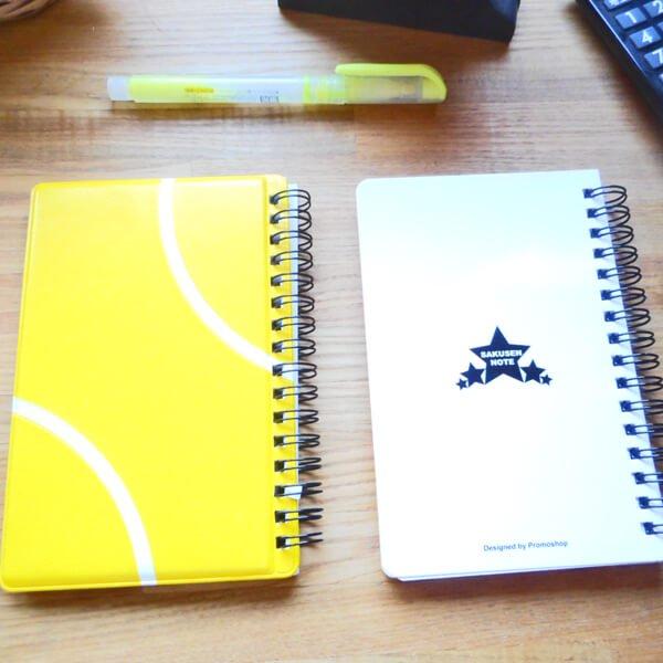 テニスコートの手帳型作戦ノート【画像3】