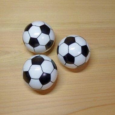触り心地の良いPUソフトサッカーボール (シンプル白黒)【画像3】