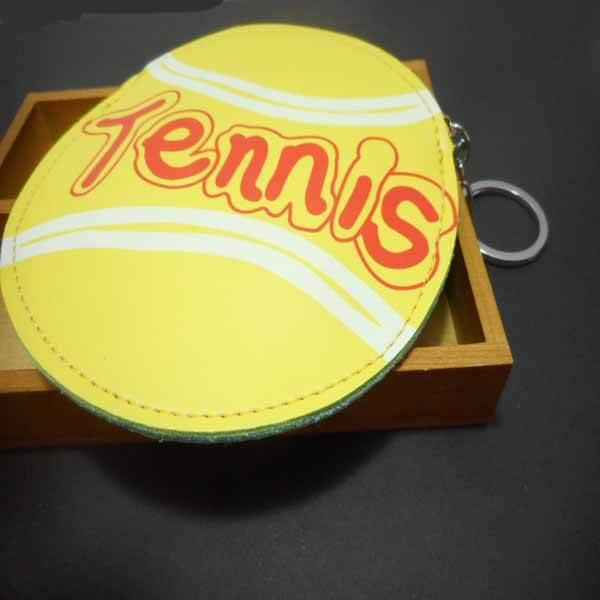 テニスボール柄のサークルマルチケースキーリング付き【画像7】