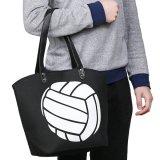両面バレーボール柄のバッグ