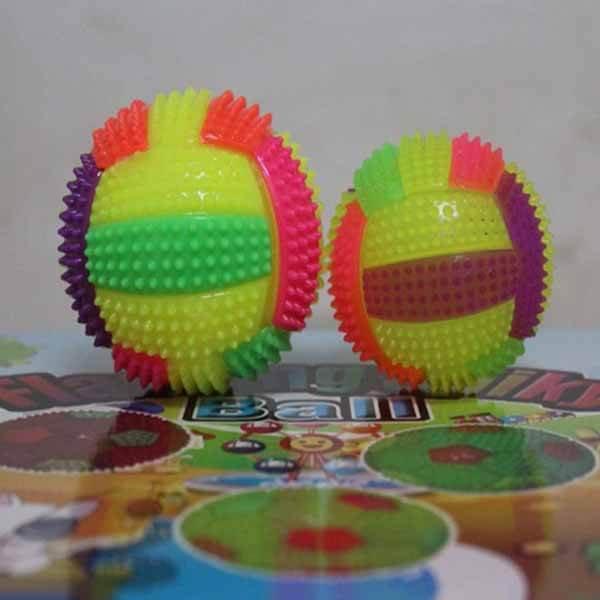 カラフルバレーボール イルミネーションボール 1個