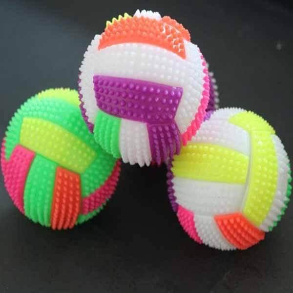 カラフルバレーボール イルミネーションボール 1個【画像3】