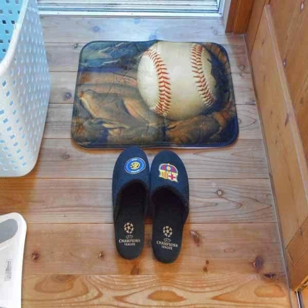 野球柄のユーティリティマット【画像5】