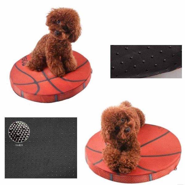 コイン型座布団クッション リアルバスケットボール 1枚