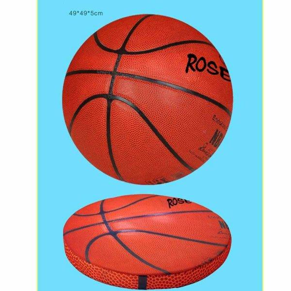 コイン型座布団クッション リアルバスケットボール 1枚【画像5】