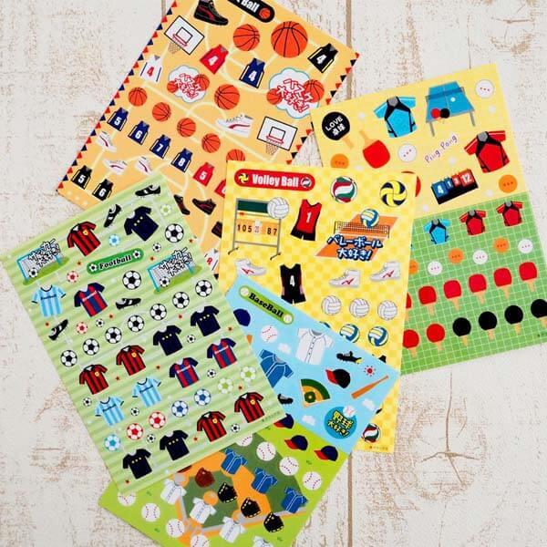 野球グッズ セットがお得 はがきサイズのオリジナルスポーツシール 野球 単価78円〜【画像10】