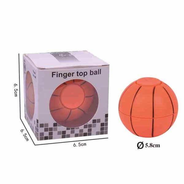 バスケットボール型 コロコロハンドスピナー【画像2】