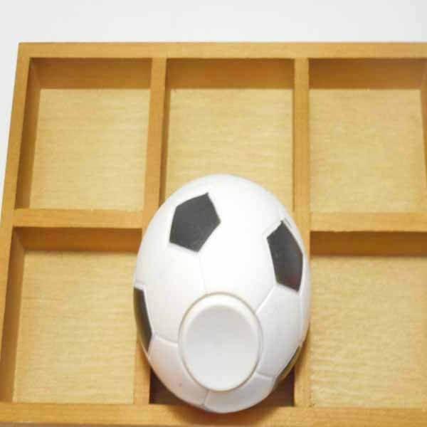 サッカーボール型 コロコロハンドスピナー【画像3】
