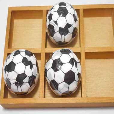 サッカーボールミニタオル(無地)