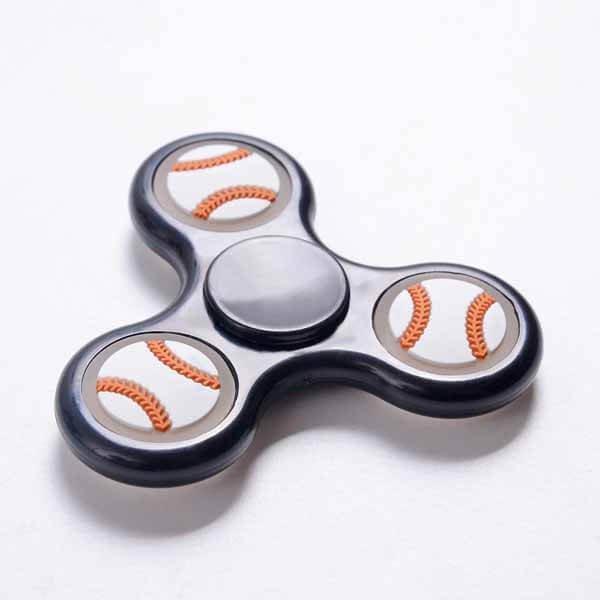 野球グッズ・おもちゃ野球ボールが可愛いハンドスピナー