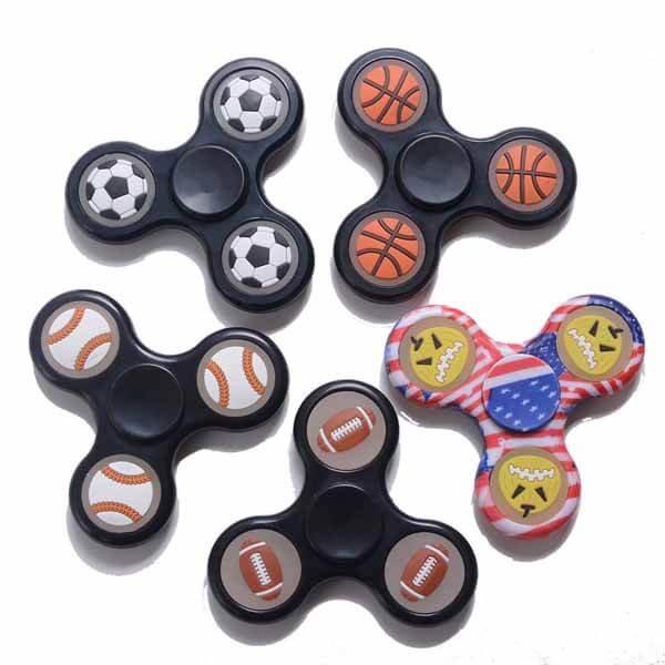 野球グッズ・おもちゃ野球ボールが可愛いハンドスピナー【画像5】