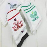テニスラケット柄の可愛いソックス(子供用靴下) 1足