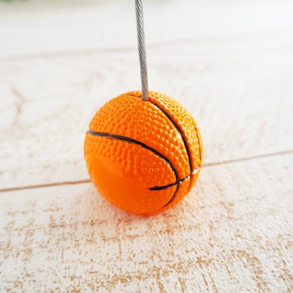 大きいバスケットボールのメモクリップボード
