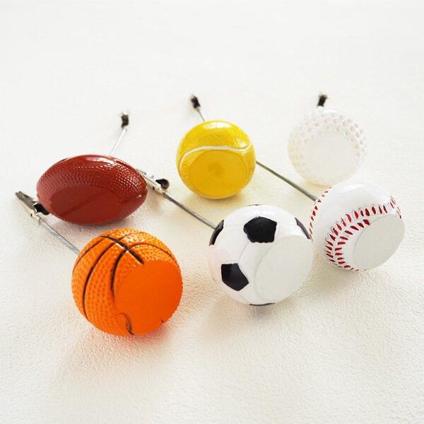 大きいバスケットボールのメモクリップボード【画像2】