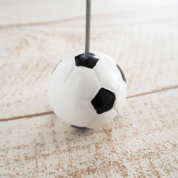 大きいサッカーボールのメモクリップボード【画像2】