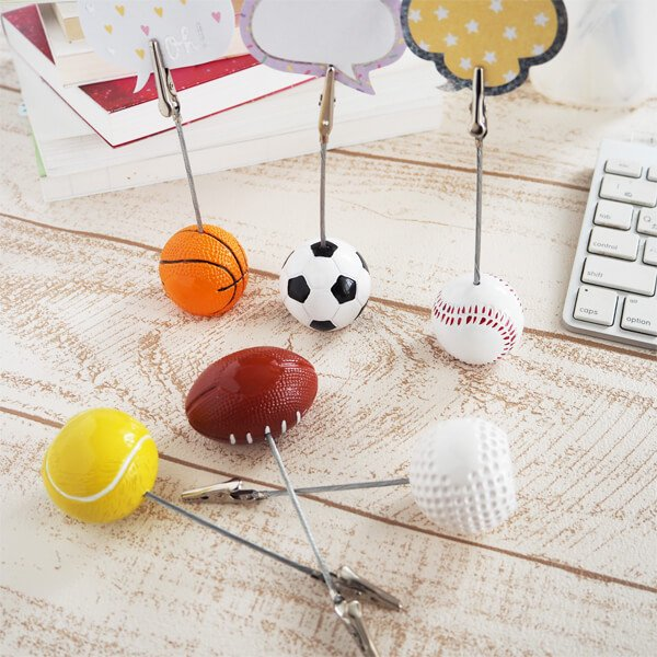 大きいテニスボールのメモクリップボード【画像2】