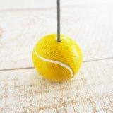 テニス プレゼント向けアイテム  大きいテニスボールのメモクリップボード