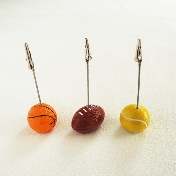 大きいラグビーボールのメモクリップボード【画像3】
