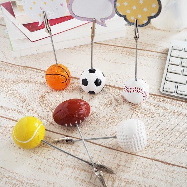 ラグビー大きいラグビーボールのメモクリップボード【画像4】