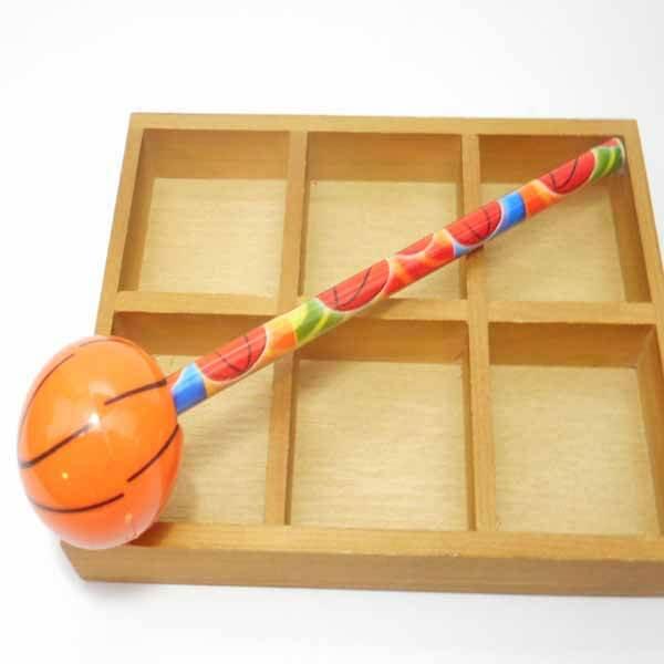 バスケットボール型のミニ鉛筆削り 1個(新タイプ)【画像5】