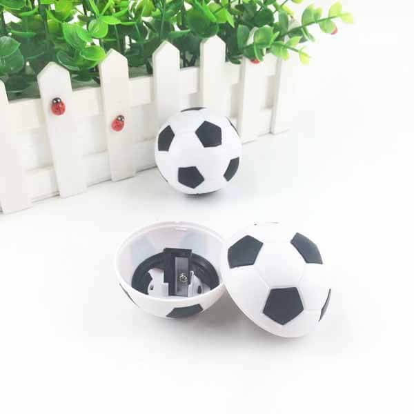 サッカーボール型鉛筆削り(白黒) 1個【画像9】