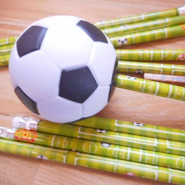 サッカーボール型鉛筆削り(白黒) 1個【画像10】