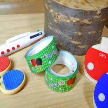 卒業期間限定セール  オリジナルマスキングビニールテープ(ミニ)卓球柄【画像3】