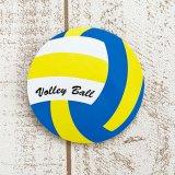 限定セール オリジナルコルクコースター バレーボール型