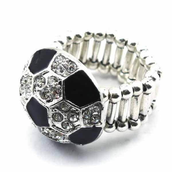 キラキラサッカーボールリング(指輪)